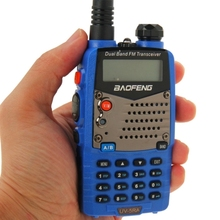 Blue Color BAOFENG UV-5RA Professional Dual Band Transceiver FM Two Way Radio Walkie Talkie Transmitter
