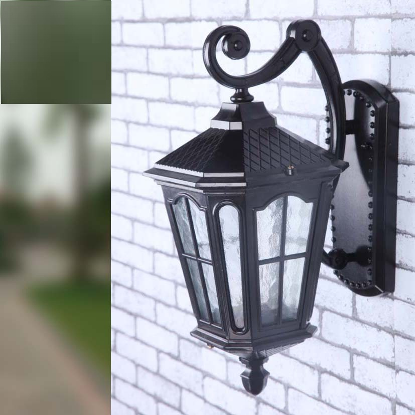 european led lamp aluminum wall light outdoor wall sconce lighting. Black Bedroom Furniture Sets. Home Design Ideas