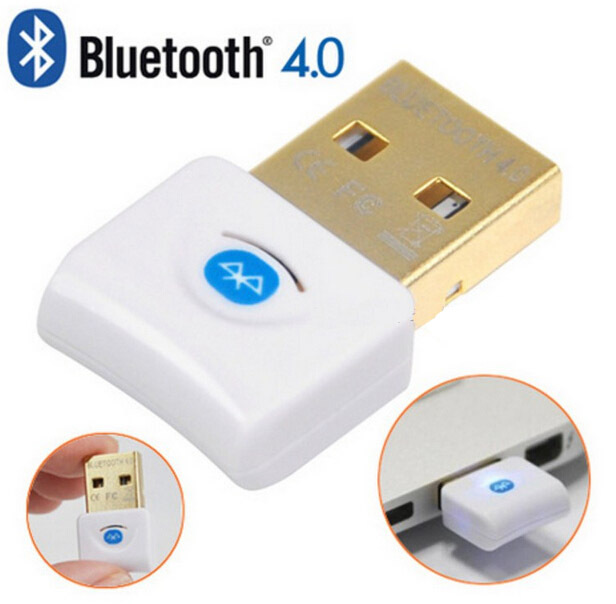 item img New White Mini Wireless Wifi USB Bluetooth  Adapter Dongle CSR Transmitter Mbps For Laptop