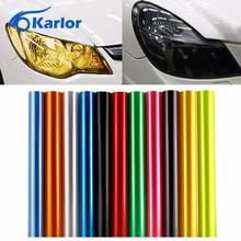 Buy 30cm x 100cm Auto Car Tint Headlight Taillight Fog Light Vinyl Smoke Film Sheet Sticker Cover 12inch x 40inch Car styling for $2.75 in AliExpress store
