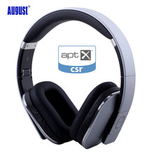 August EP650 Wireless Bluetotoh Headphones/Headset with Microphone Blueooth 4.1 Wireless Stereo APT-X Headset for TV,Phone,PC(China (Mainland))