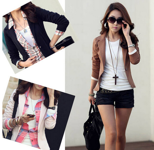 Collection Womens Brown Blazer Jacket Pictures - The Fashions Of ...