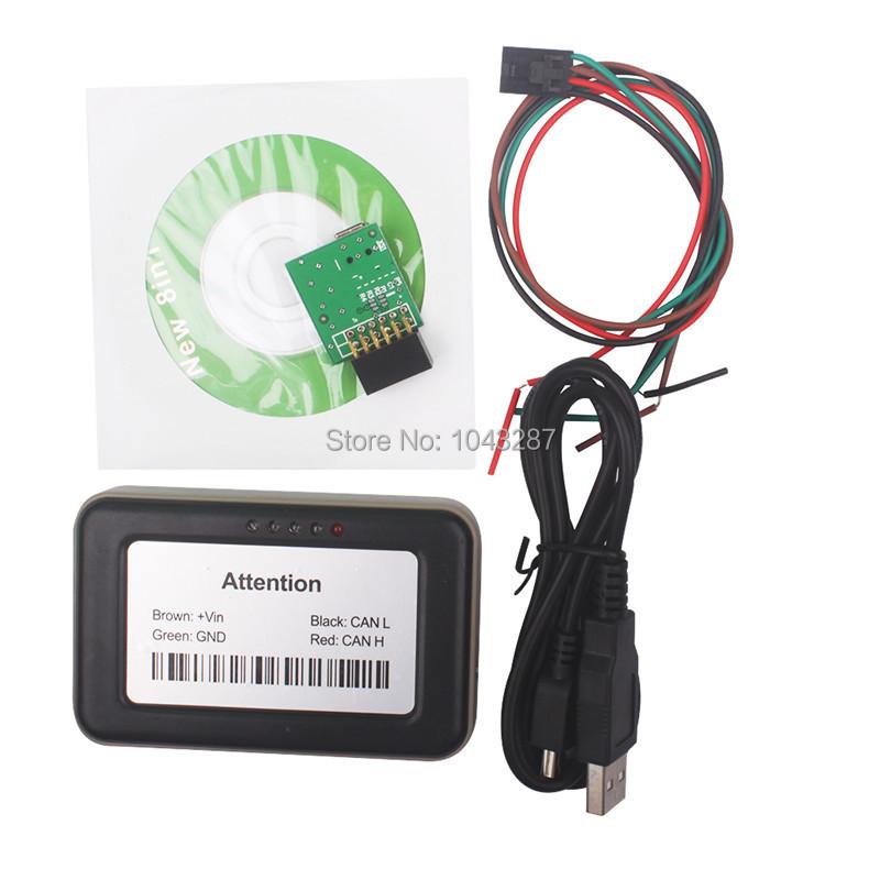 10pcs/lot 2015 Original New Arrival Professional Adblue 8 in 1 AdBlue Emulator V4.1 with NOx sensor Support euro 6 DHL Free<br><br>Aliexpress
