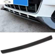 A8 Front Bumper Lip Car Styling Carbon Fiber Audi A4 B8 Sedan 2009 2010 2011 2012 ( Fit Sline ) - SPEED MOTORING LTD,CO store