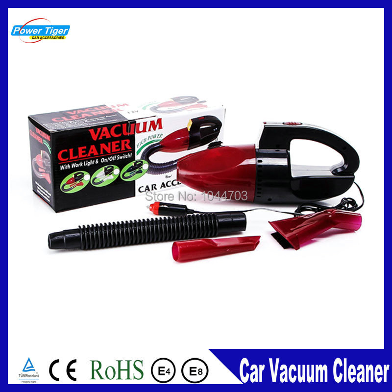 High quality Mini 12V Car Powered Vehicle Washer Vacuum Cleaner Set For Car Dust Collector Cleaning Wet and Dry Vacuum Cleaner(China (Mainland))