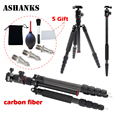 ASHANKS A28 Load 12KG Aluminum Tripod Monopod with Ball Head For DSLR Camera Travel Professional Photo