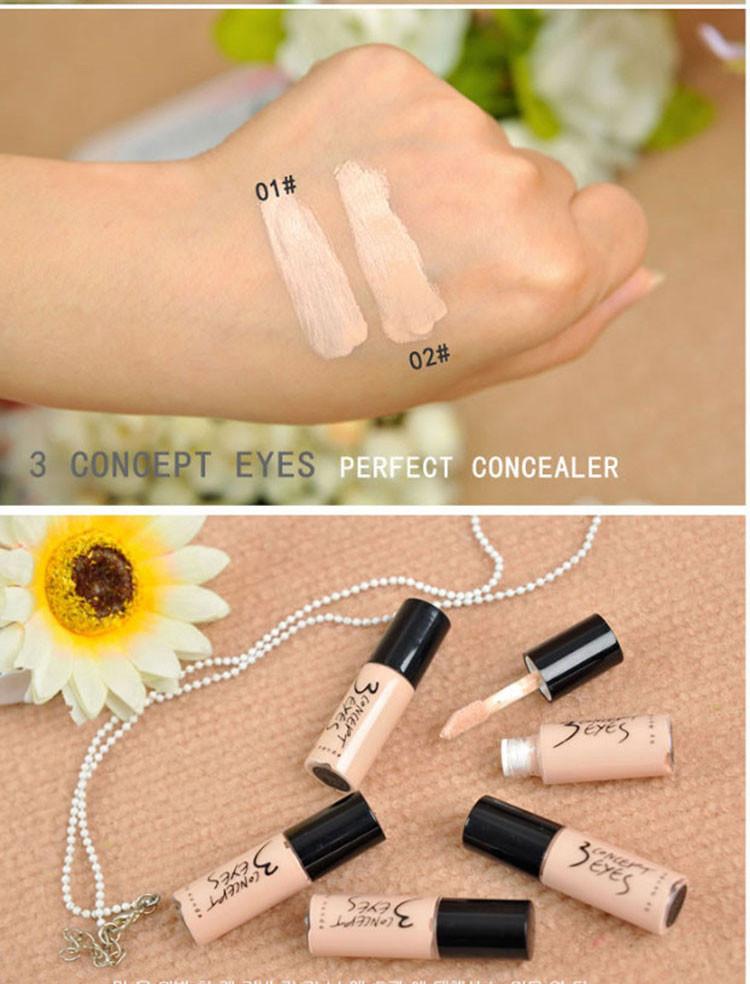 2016 Liquid Concealer Stick Hide Blemish Cream Concealer Lip Dark Eye Circle Cover Concealer Long Lasting Moisture Free Shipping