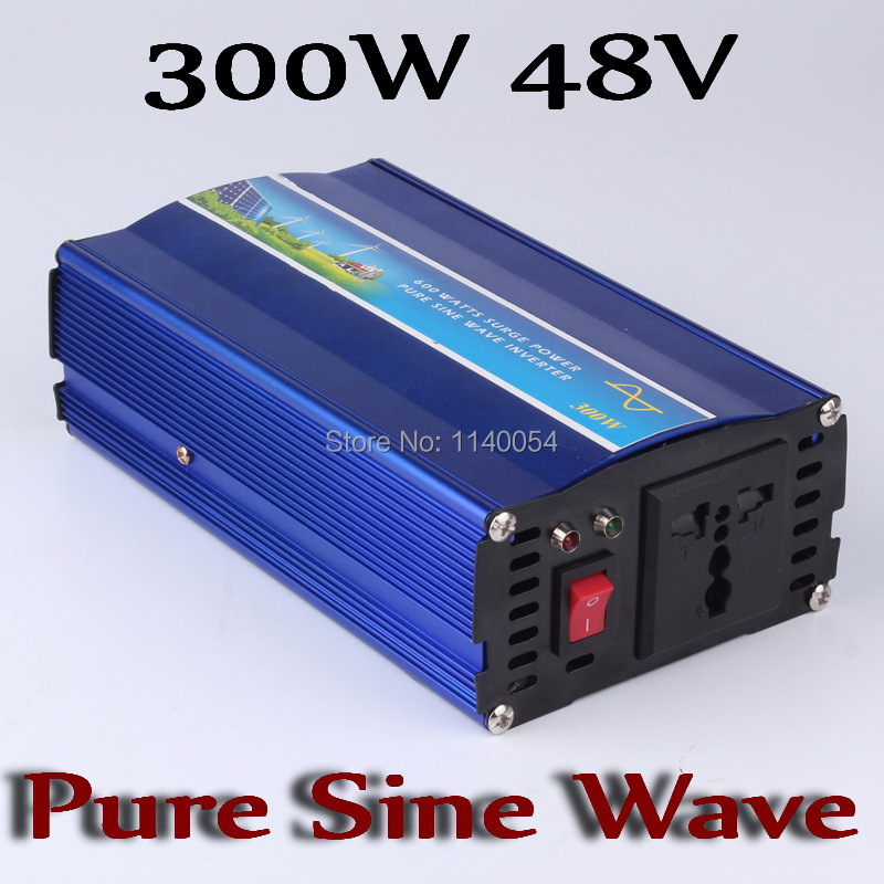 300W off grid inverter, pure sine wave inverter 300W for solar and wind system 48V DC to AC 100/110/120/220/230/240V(China (Mainland))