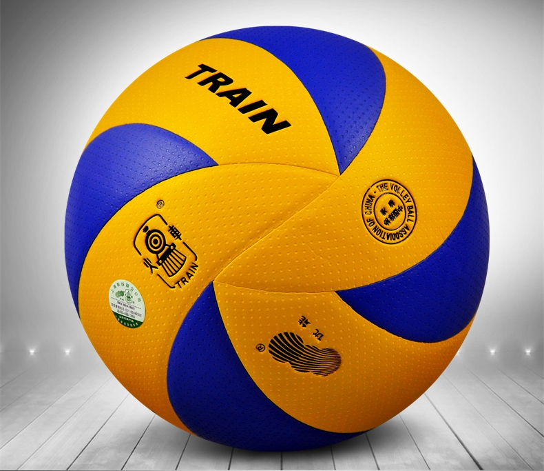 Train 5002 Volleyball Volley Ball Soft PU Official Size 5 Weight Professional Game Competition Training New Free Shipping(China (Mainland))