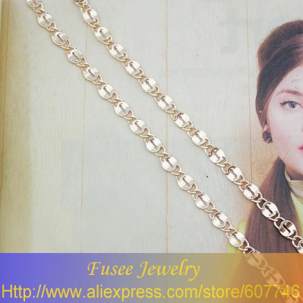 Bhh3620 медь 18 К с позолотой россия cc цвет ожерелье
