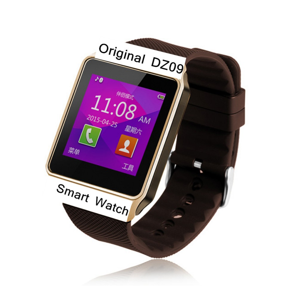 2016 New Smart Watch dz09 , 380mAh Long Bettery Life Smart Mobile Phone Watch With SIM Card Bluetooth Support IOS Android(China (Mainland))