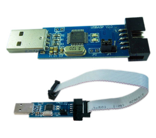 5Pcs USBASP USBISP LC-01 51 AVR Programmer Adapter 10 Pin Cable USB ATMEGA8(China (Mainland))