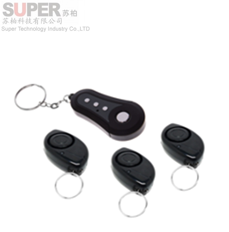 F730 big sound key finder 3 receivers Wireless Remote Key Finder Locator Keychain Keyfinder Electronic Anti-lost Lost Finder(China (Mainland))