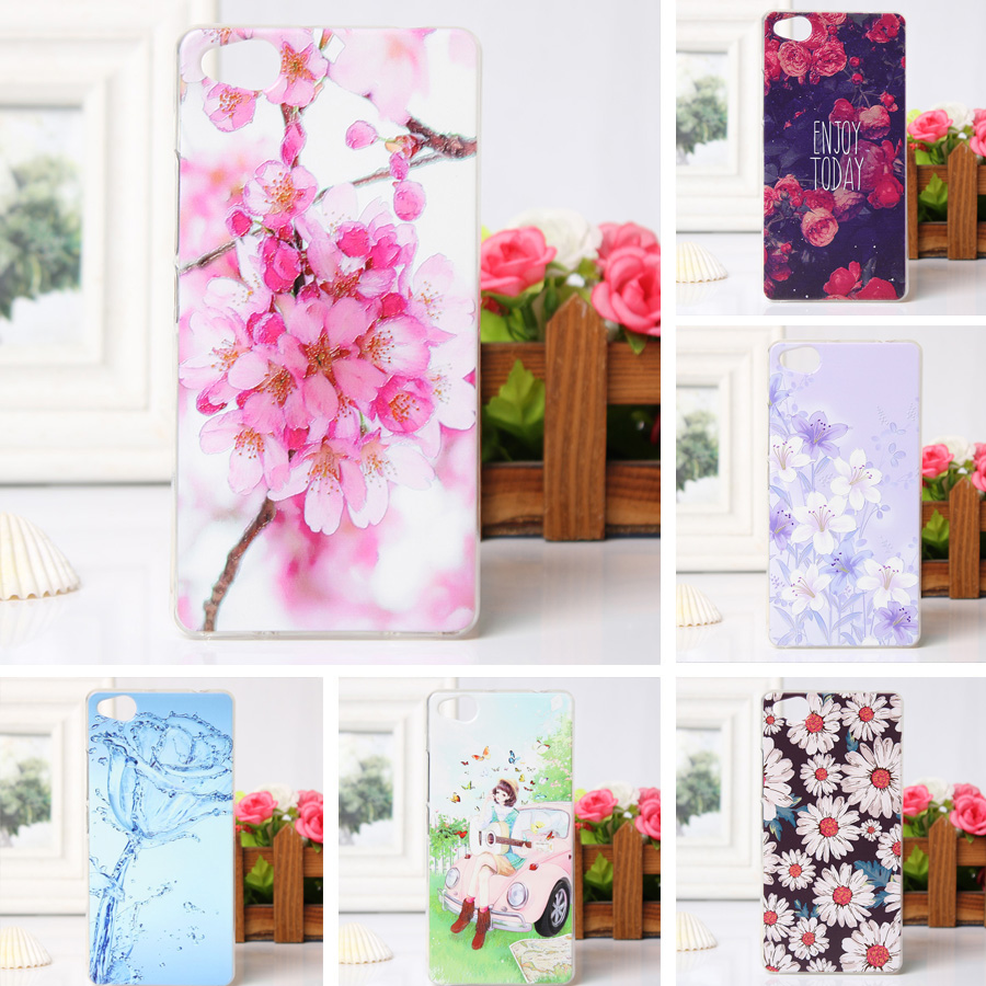 Mobile Phone Skin Case Soft TPU Cover for ZTE Nubia Z9 Mini Silicon Shell Phone Bag 3D Relief Printing Case for ZTE Nubia Z9mini(China (Mainland))
