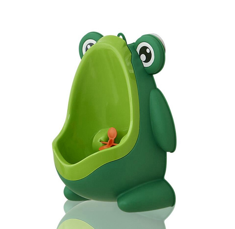 Cute Frog Baby Potty Toilet Urinals Boy Assento Sanitario Infantil Children Potty Toilet Training Kids Urinal Plastic Trainers (1)