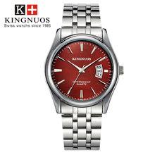 Relogio Masculino montre hommes Top marque de luxe homme d'affaires montre en acier étanche mâle horloge Date heure Hodinky Reloj Hombre(China)