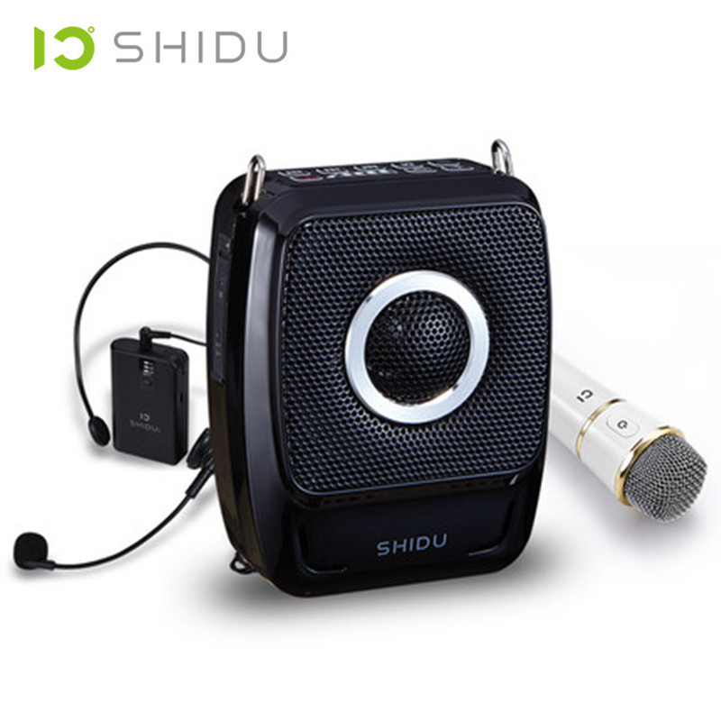 25 Watts Mini Portable Rechargeable Voice Amplifier Pa System Speaker with UHF Handheld Wireless Microphone Headset for Teachers(China (Mainland))