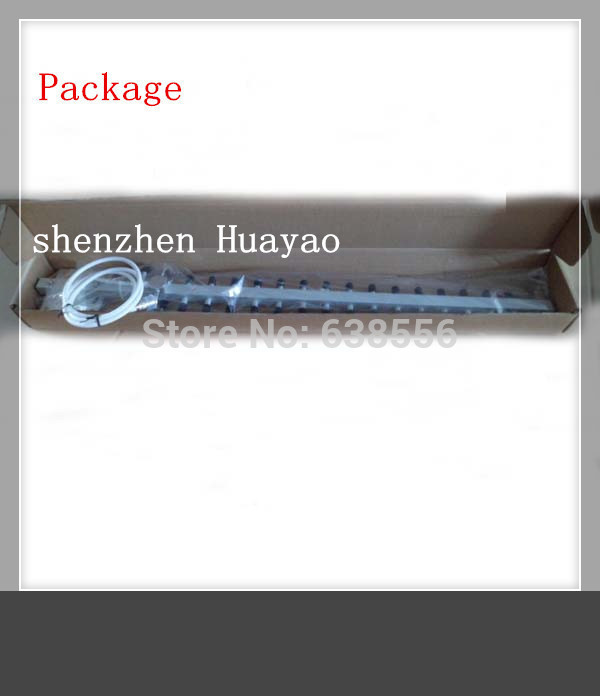 Factory price !!!New Arrival 3G (1920-2170mhz) 15dbi 15units booster yagi antenna for huawei router(China (Mainland))
