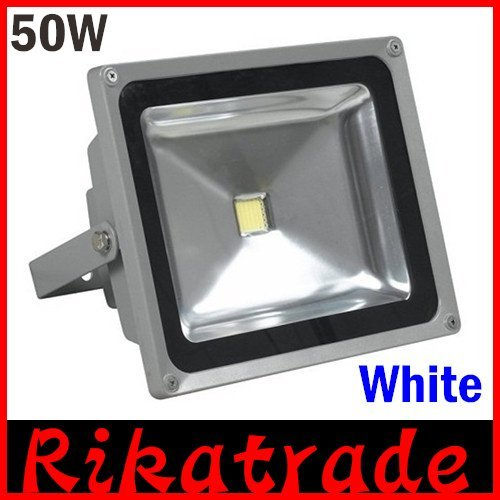 DHL Free Shipping 50W White/Warm White 85-265V Waterproof LED Outdoor Light