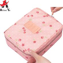 Attro-Yo Makeup Bag Travel Bags Women Cosmetic Bag toiletry Storage Ladies women bag cosmetic case wash Bolsas ls8973ay(China (Mainland))