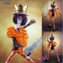 EMS Free Shipping Japanese Anime Cartoon One Piece POP Brook PVC Action Figure Model Collection Toy AOP105