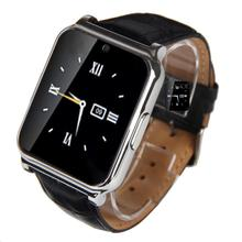 W90 Bluetooth Smart Watch Men Luxury Leather Business Smartwatch Knight Full View HD Screen for IOS Android Phones