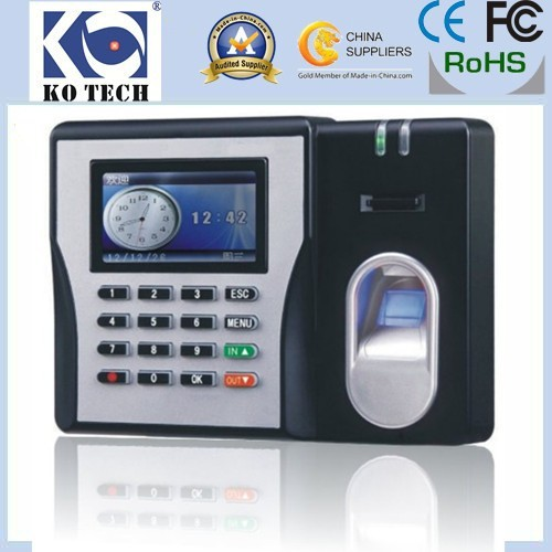 Фотография Free Shipping KO-MX629 High Performance Fingerprint Time Clock Time Attendance Fingerprint Time Recorder