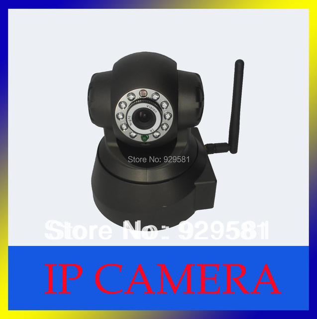 CCTV Security Day&Night Vision WPA Internet Wifi cctv IP Wireless/wired Camera,free shipping