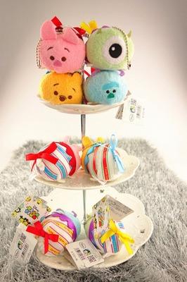 3.5'' Tsum Tsum Plush Toys Minnie Mickey Lilo Stitch Marie Alice Cheshire Cat Toy Story Pendant TSUM TSUM mini doll toys(China (Mainland))