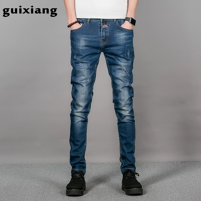 Online Buy Wholesale mens dark jeans button fly from China mens ...