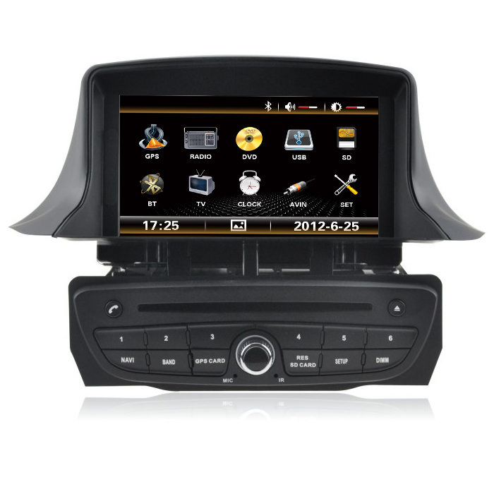 for wince car dvd player for renault megane 3 car dvd gps tape radio bluetooth 3g sd dvd vcd cd. Black Bedroom Furniture Sets. Home Design Ideas