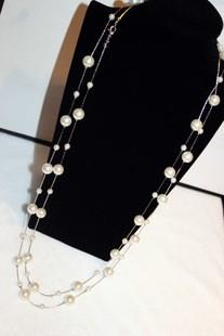 HTB1WYY2JFXXXXcPXXXXq6xXFXXXc - White Simulated Pearl Jewelry Multi-Layer Long Necklace Women Bijoux Fashion Classic Beads Chain Necklaces & Pendants Gift