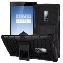 Hybrid Impact Armor Rugged Case Stand Cover Para For OnePlus 2 Case Fundas One Plus Two OnePlus Two Protective Phone Bag Skin