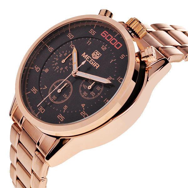 aliexpress buy megir gold luxury brand