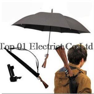DHL/EMS Free Shipping 50pcs/lot New Novelty Rifle Umbrella Gun Umbrella 100cm Big size(China (Mainland))