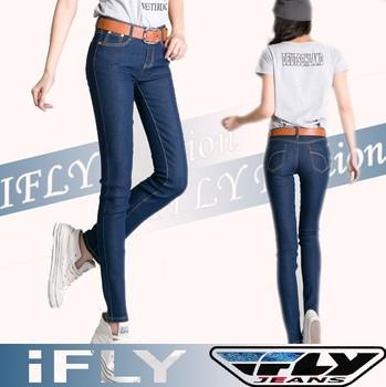 IFLY 918F 2015 Fashion Newest Girls Plus Size Women Pants Classy Mid Waist Skinny Jeans Women