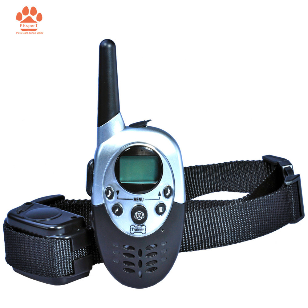 1PC Free Shipping Remote Control 1000M Rechargeable Waterproof Dog Training Collar for 1 dog Electric dog products(China (Mainland))