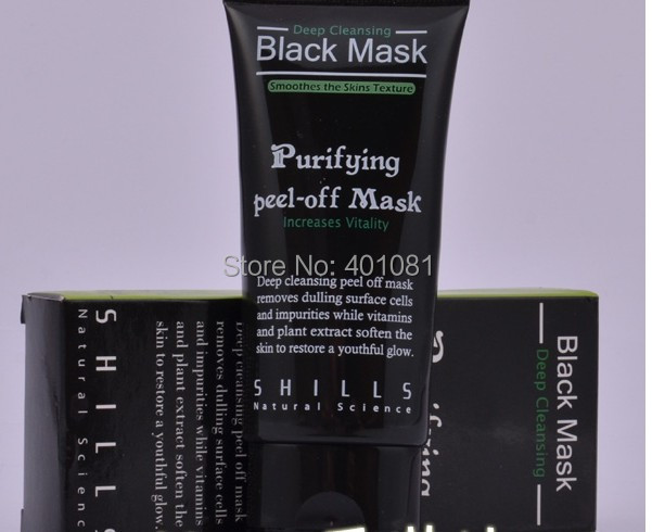 SHILLS Deep Cleansing purifying peel Black mud Facial face mask Remove blackhead facial 50ml, 10 - party-life's store