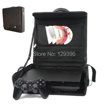 Portable Travel Carry Shoulder Bag Handbag Storage Bag For Sony Playstation PS3 Slim Gamepad Controler Host Console New
