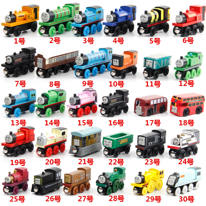 Children toys THOMAS train track baby toys wooden Thomas Locomotive boy toys thomas train carriage kids toy many types available(China (Mainland))