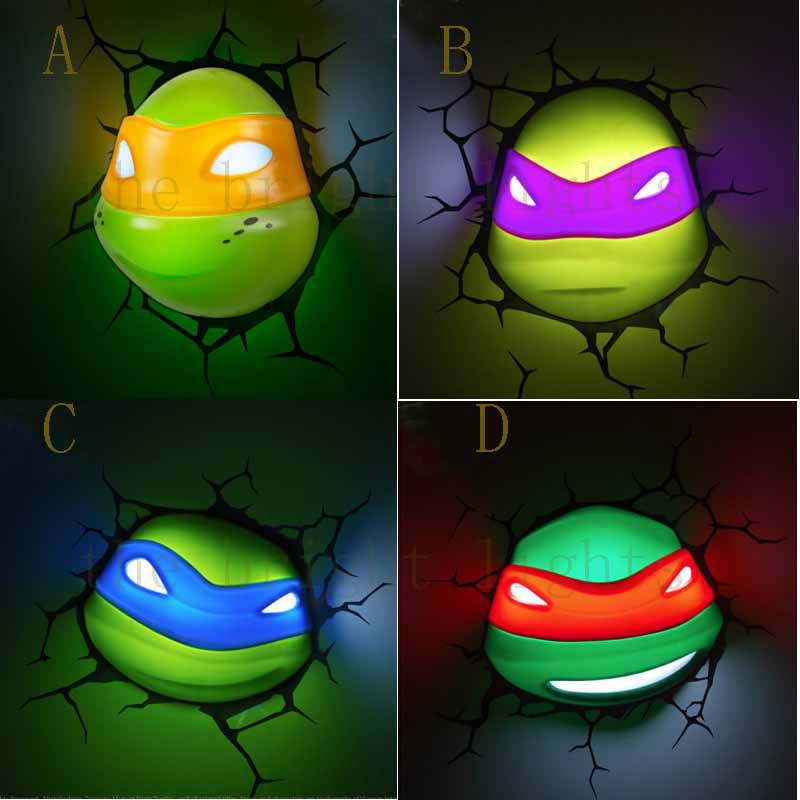 Iron Man Wall Night Light Hulk Iron Man 3d Night