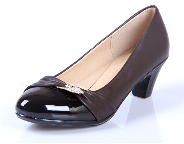 Low Heel Black Dress Shoes