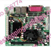 Atom d525 taoban dual gigabit network card 4 serial industrial motherboard