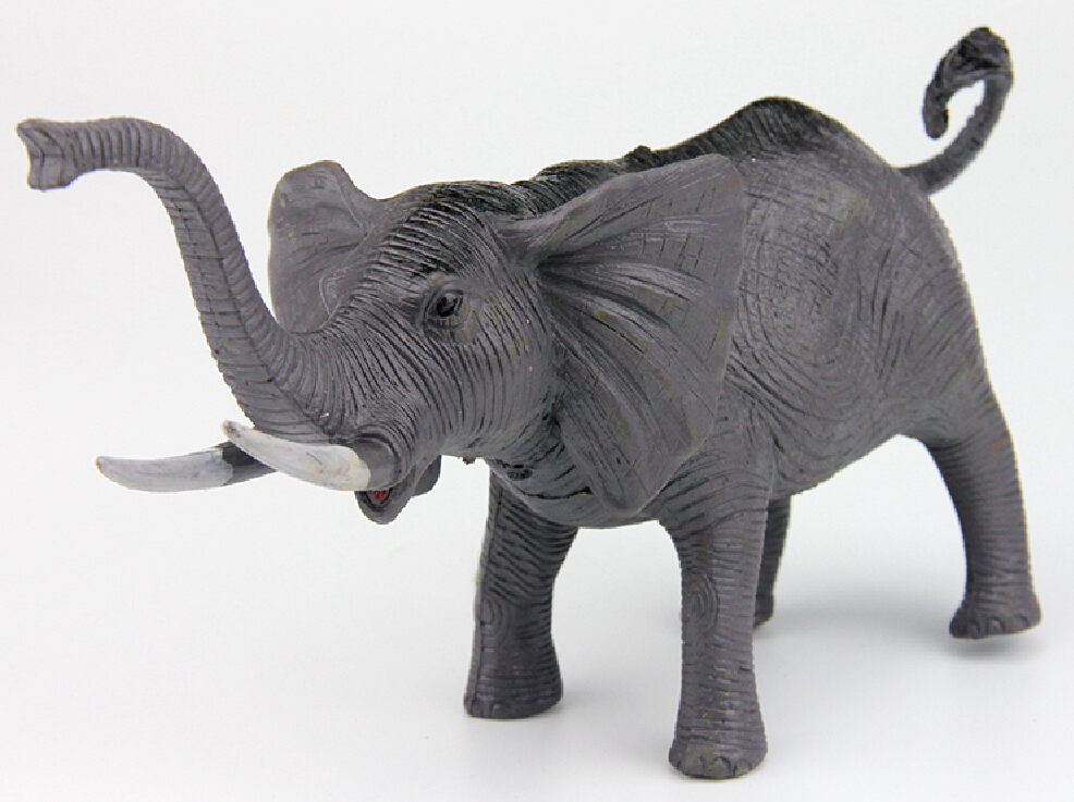 Toys For Elephant : Elephants wild animal toys action figures model pvc