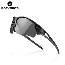 ROCKBROS Sports Photochromic Polarized Glasses Cycling Eyewear Bicycle Glass MTB Bike Bicycle Riding Finshing Cycling Sunglasses(China (Mainland))