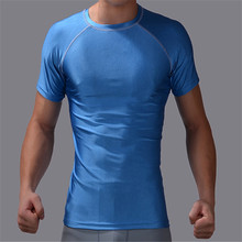 SuperDeals CPD men's fashion sports fitness exercise fitness compression base layer jacket shirts with short sleeves