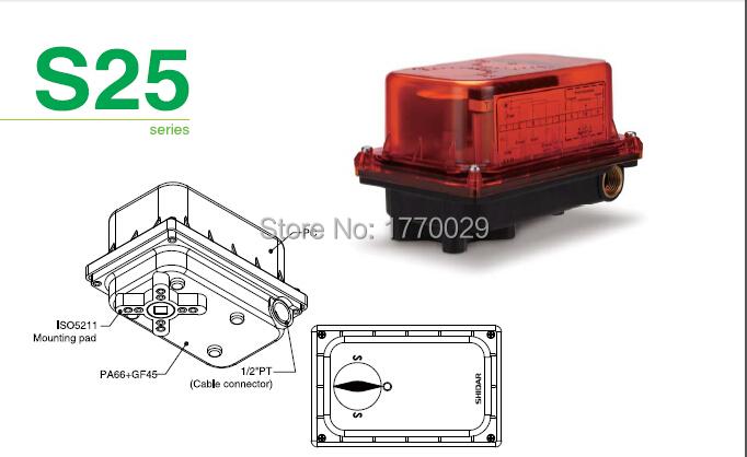 S25 Pneumatic valve actuator(China (Mainland))