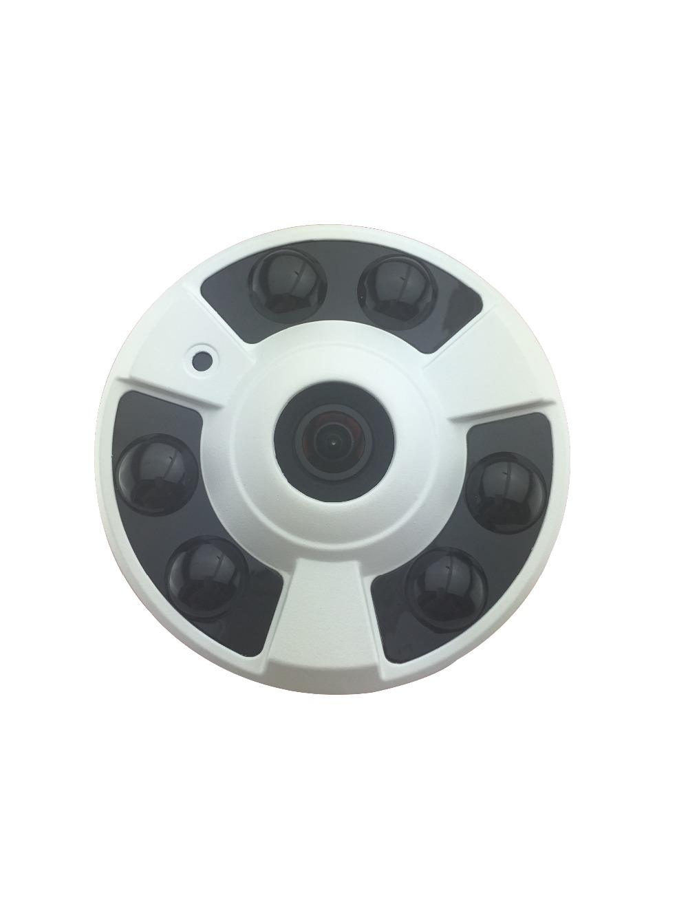 Fisheye 180 Degree HD 5MP Megapixel IP Camera Indoor TI Network P2P 6 IR Night freeshipping(China (Mainland))