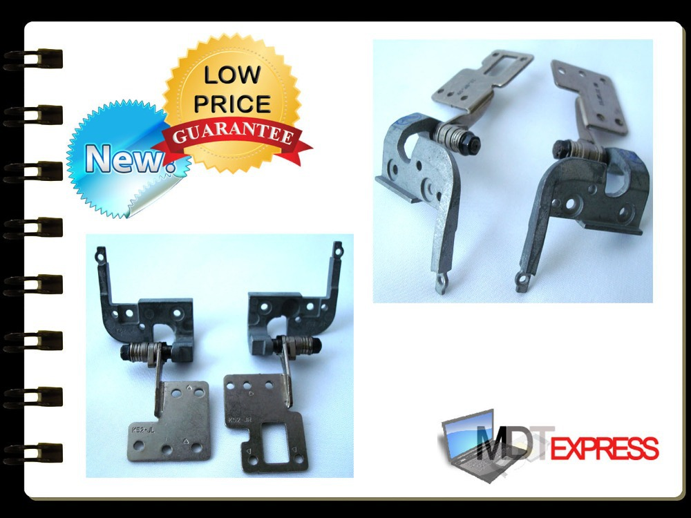 100% Brand New! Laptop LCD Hinges for Asus A52 A52F A52JB A52JR X52(China (Mainland))