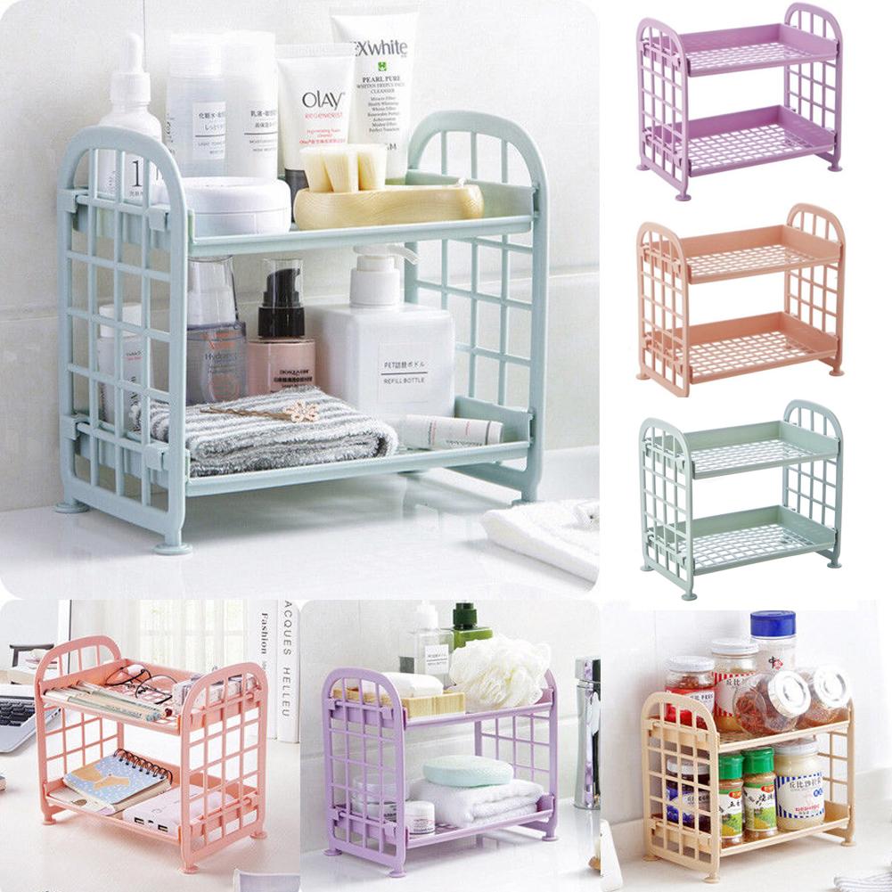 Colgante de ducha Caddy rack 3 nivel Organizador De Baño unidad de almacenamiento de cesta 4 Colores